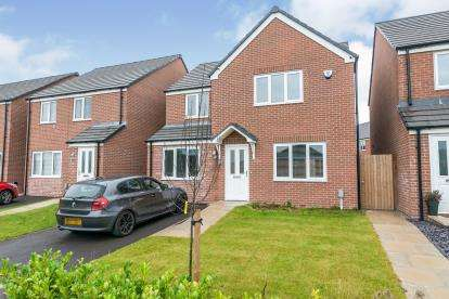 4 Bedrooms Detached House for sale in Green Lane, Hindley Green, Wigan, Greater Manchester, WN2
