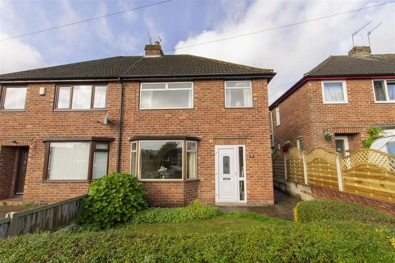 3 Bedrooms Semi Detached House for sale in Cheetham Avenue, Unstone, Dronfield