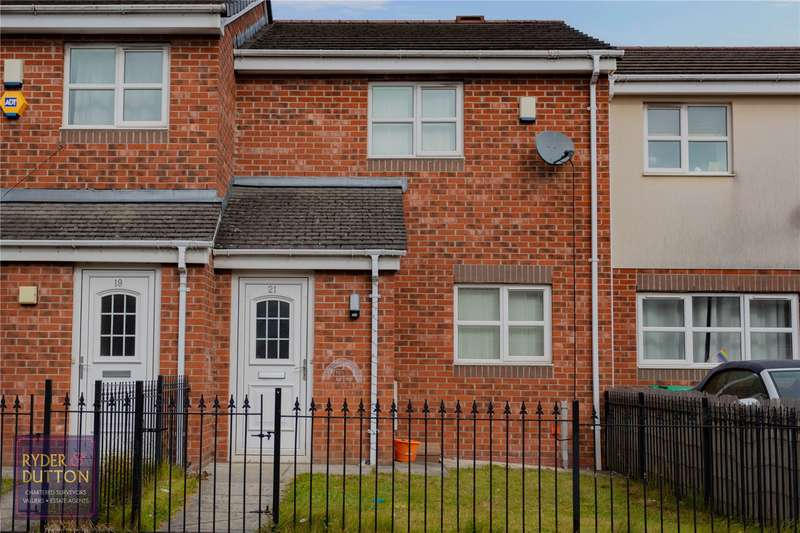 2 Bedrooms Terraced House for sale in Rushberry Avenue, Moston, Manchester, M40