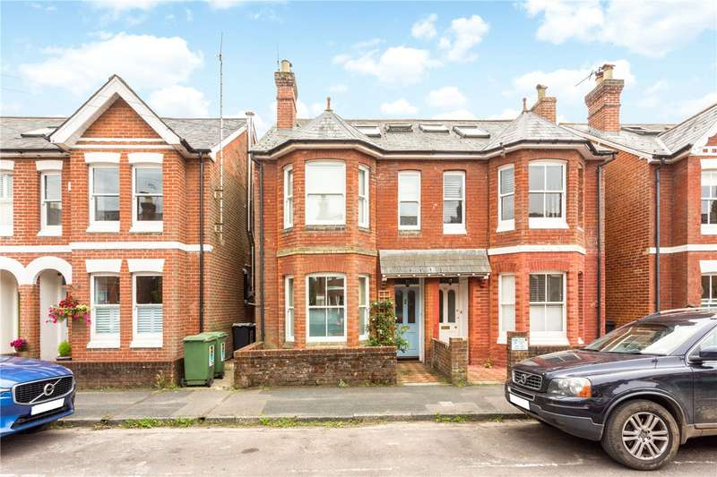 4 Bedrooms Semi Detached House for sale in Monks Road, Winchester, Hampshire, SO23