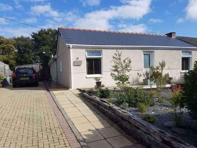 3 Bedrooms Semi Detached Bungalow for sale in Heol Y Meinciau, Pontyates, Llanelli