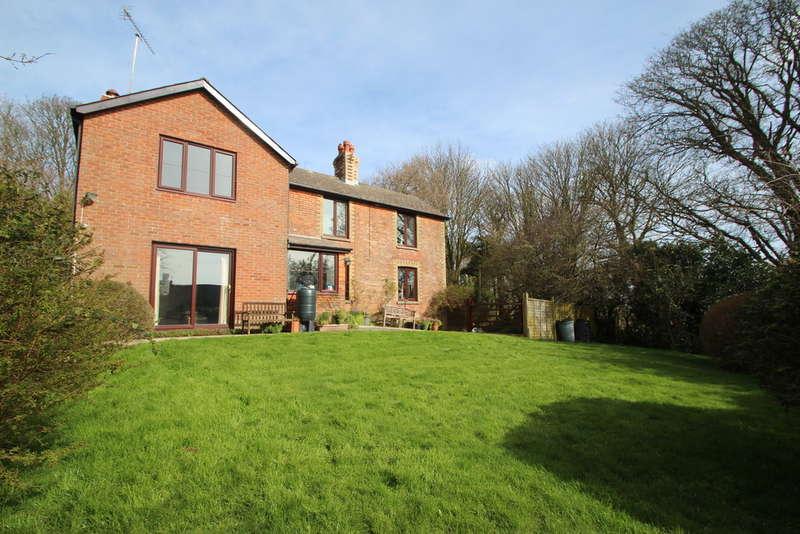 4 Bedrooms Detached House for sale in Brook Lane, Chillerton