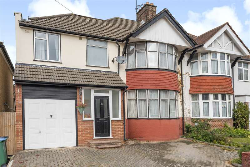 4 Bedrooms Semi Detached House for sale in Swiss Avenue, Watford, Hertfordshire, WD18