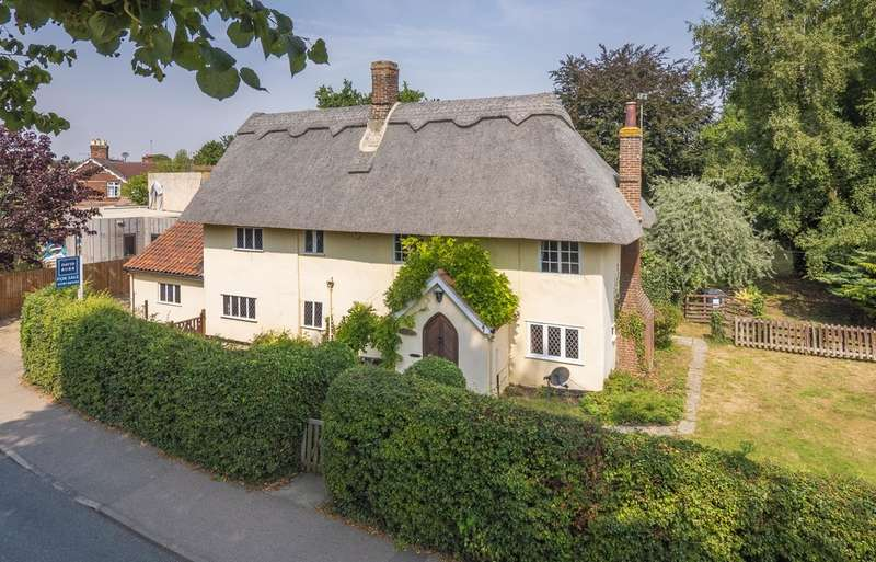 4 Bedrooms Detached House for sale in Acton, Sudbury, Suffolk