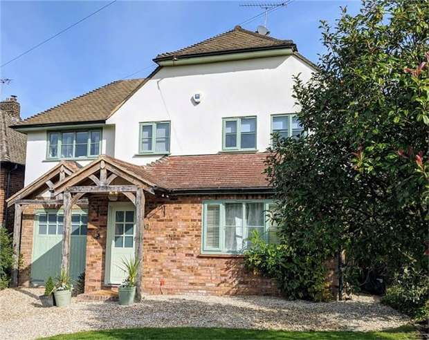 5 Bedrooms Detached House for sale in 5 Eynsford Rise, Eynsford, Kent