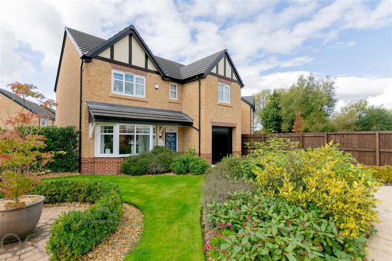 4 Bedrooms Detached House for sale in Gibfield Park Avenue, Atherton, Manchester