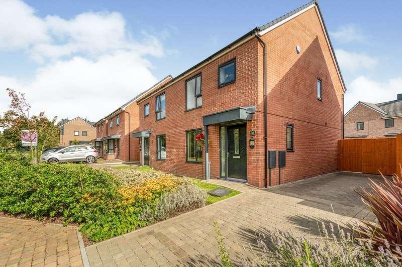 3 Bedrooms Semi Detached House for sale in Greenfinch Avenue, Preston, Lancashire, PR4