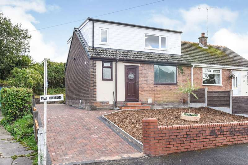 3 Bedrooms Semi Detached Bungalow for sale in Great Meadow, Shaw, OL2