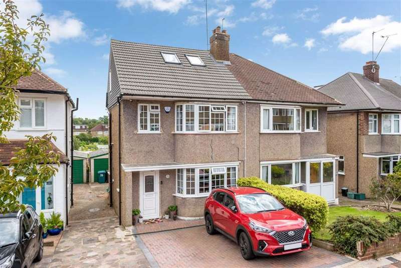 4 Bedrooms Semi Detached House for sale in Constance Crescent, Hayes