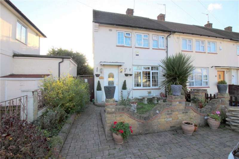 3 Bedrooms Semi Detached House for sale in Rossington Avenue, Borehamwood