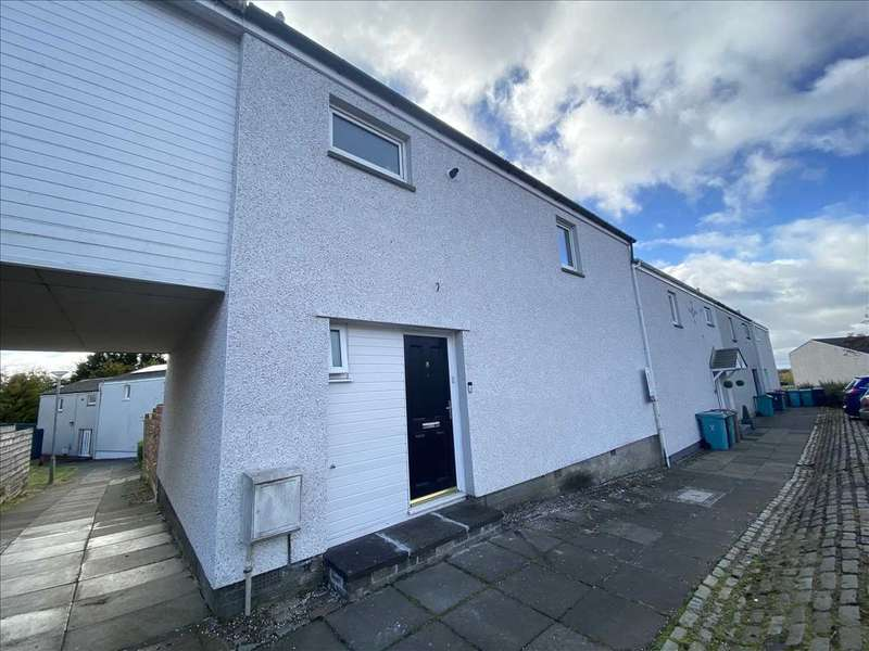 3 Bedrooms Terraced House for sale in Ashiestiel Court, Cumbernauld