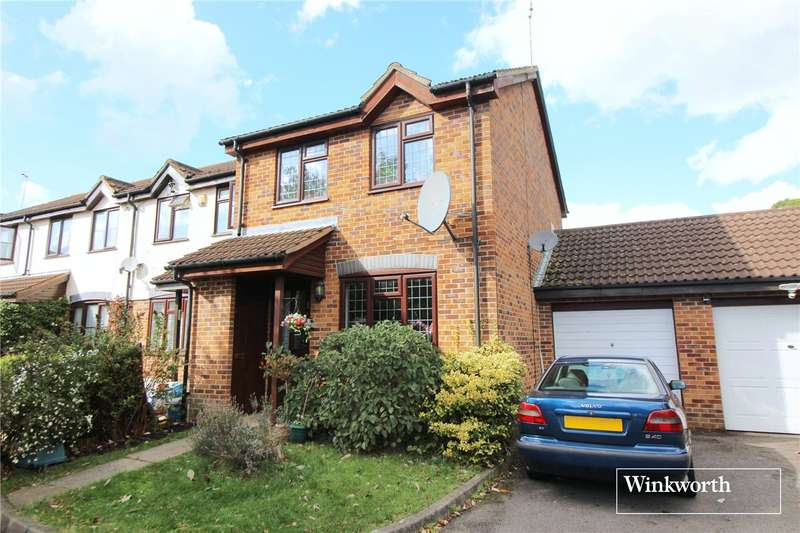 3 Bedrooms End Of Terrace House for sale in Hancock Court, Borehamwood, Hertfordshire, WD6