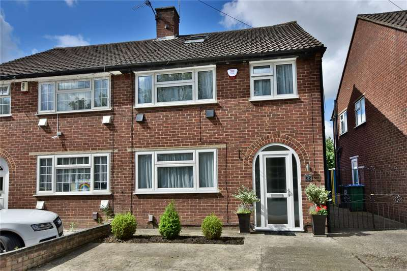 4 Bedrooms Semi Detached House for sale in Colne Way, Watford, Hertfordshire, WD24