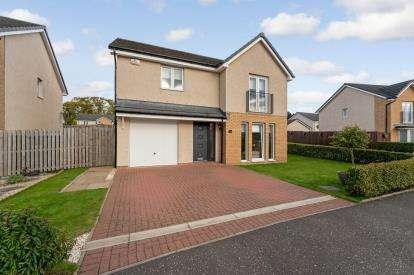 4 Bedrooms Detached House for sale in Curlers Loan, Kilsyth