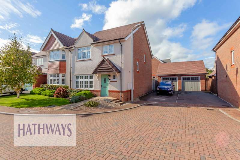 4 Bedrooms Property for sale in Downton Hall Close, Newport