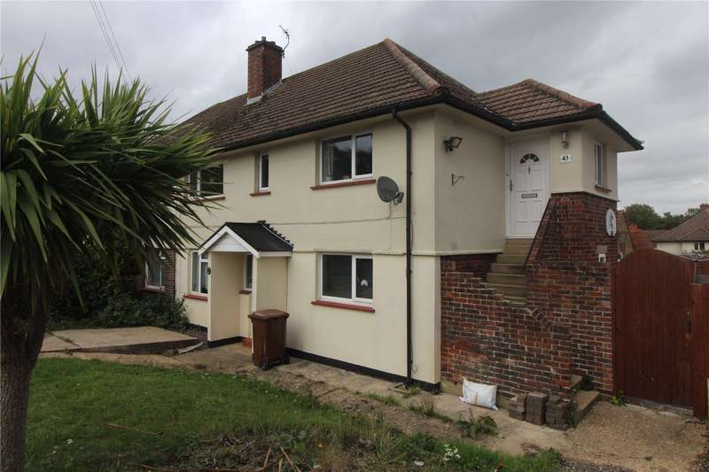 3 Bedrooms Maisonette Flat for sale in Duchess of Kent Drive, Chatham, ME5