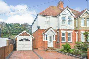 3 Bedrooms Semi Detached House for sale in Hasborough Road, Folkestone, Kent