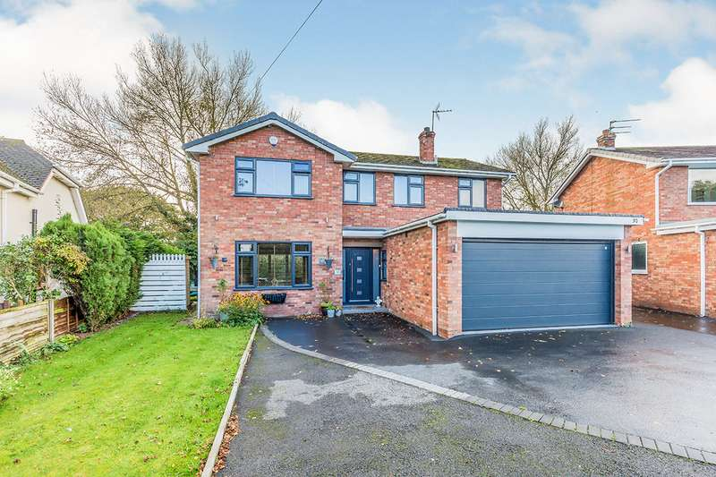 4 Bedrooms Detached House for sale in Newcastle Road South, Brereton, Sandbach, Cheshire, CW11
