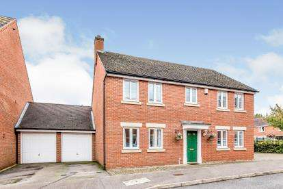 4 Bedrooms Detached House for sale in Wood End Close, Sharnbrook, Bedford, Bedfordshire