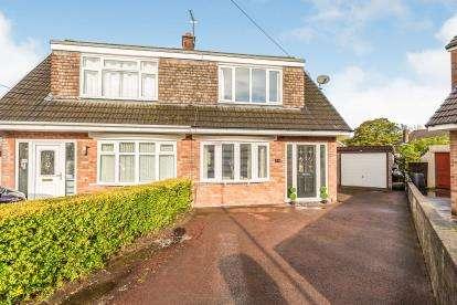 3 Bedrooms Semi Detached House for sale in Grasmere Close, Walton-Le-Dale, Preston, Lancashire
