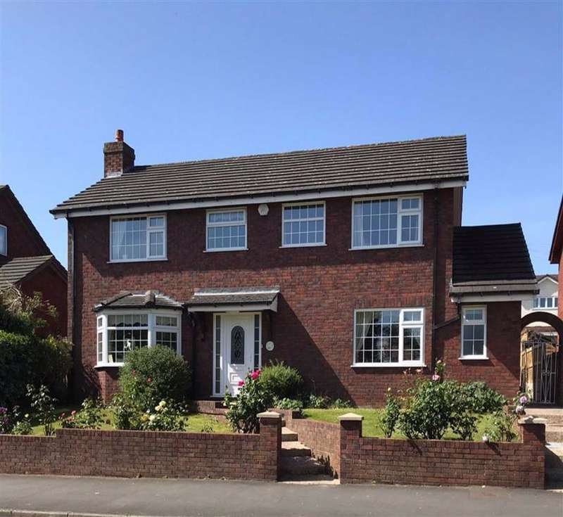 4 Bedrooms Detached House for sale in Coed Onn Road, Fint, Flintshire, CH6
