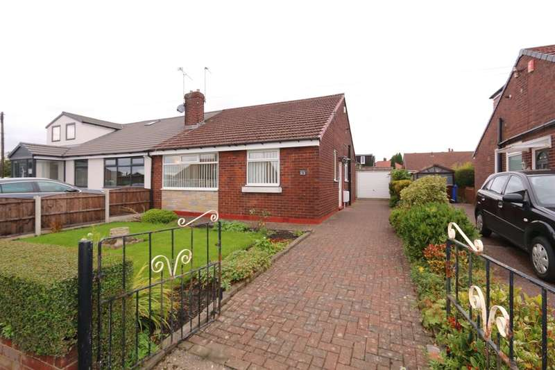 2 Bedrooms Semi Detached Bungalow for sale in Windermere Avenue, Denton, Manchester, M34