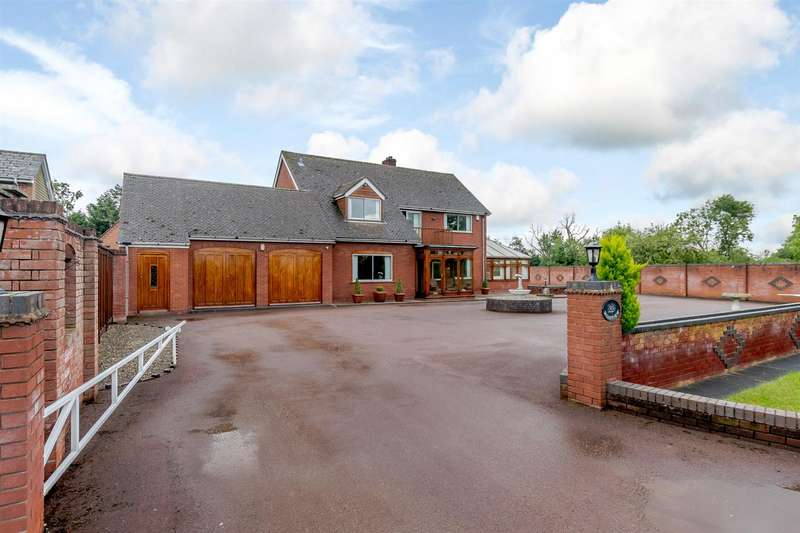 4 Bedrooms Detached House for sale in Wadborough Road, Littleworth, Worcester, Worcestershire