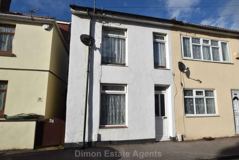 2 Bedrooms End Of Terrace House for sale in Cobden Street, Gosport