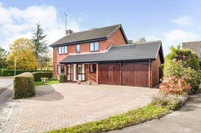 4 Bedrooms Detached House for sale in Westal Park, Cheltenham, Gloucestershire