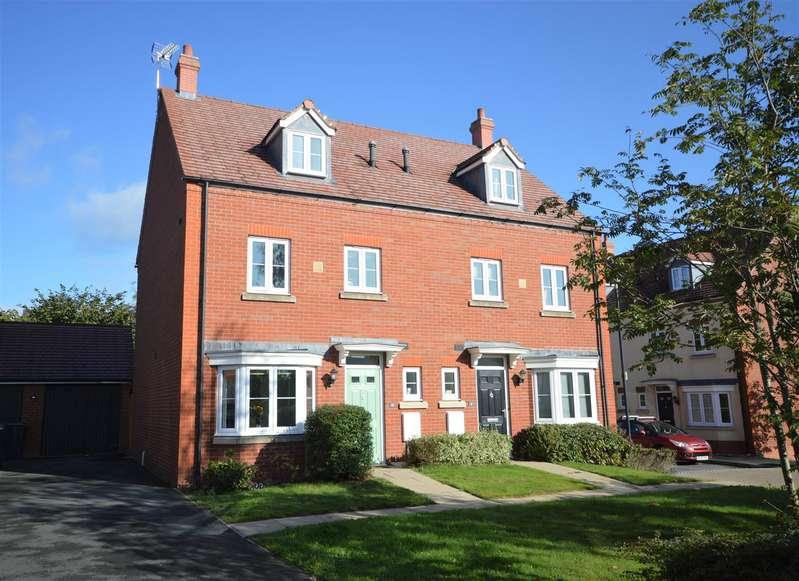 4 Bedrooms Semi Detached House for sale in Lower Leys Way, Leominster