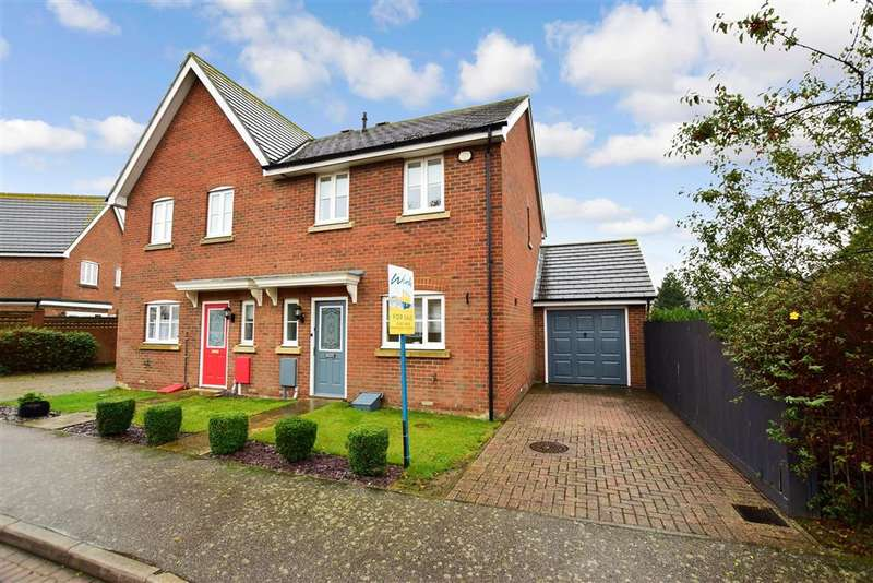 3 Bedrooms Semi Detached House for sale in Plover Close, , Herne Bay, Kent