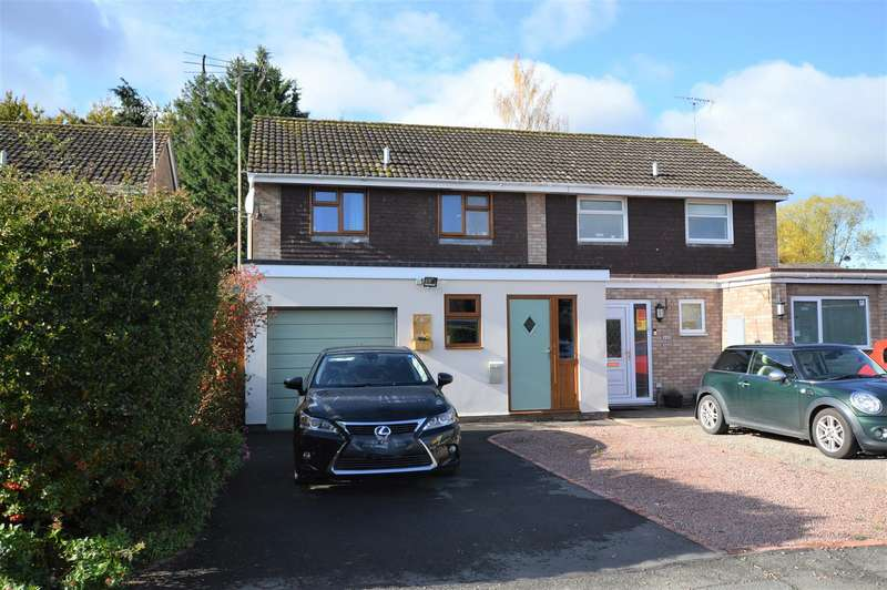 3 Bedrooms Semi Detached House for sale in Buckfield Road, Leominster