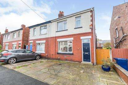 3 Bedrooms Semi Detached House for sale in Gloucester Avenue, Farington, Leyland, Lancashire, PR25