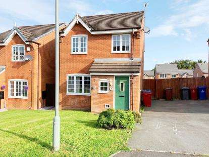 3 Bedrooms Detached House for sale in Bailey Close, Blackburn, Lancashire, BB2