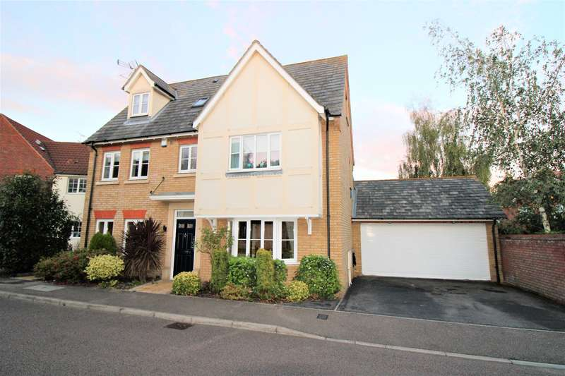 4 Bedrooms Detached House for sale in San Marcos Drive, Grays, RM16