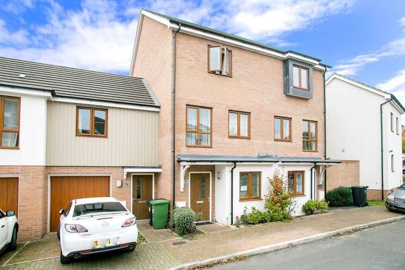 4 Bedrooms Town House for sale in Owen Way, Limes Park / Rooksdown, Basingstoke, RG24