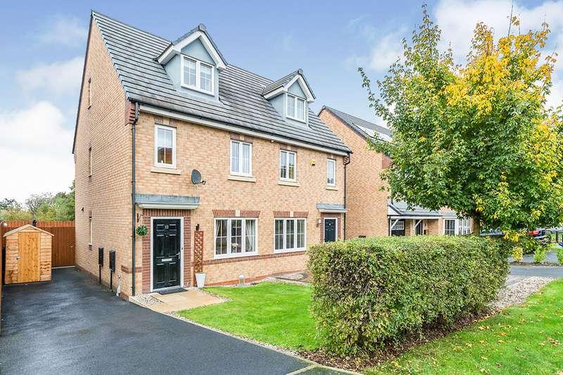 3 Bedrooms Semi Detached House for sale in Oak Leaf Drive, Bamber Bridge, Preston, PR5