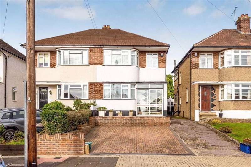 3 Bedrooms Semi Detached House for sale in Constance Crescent, Hayes