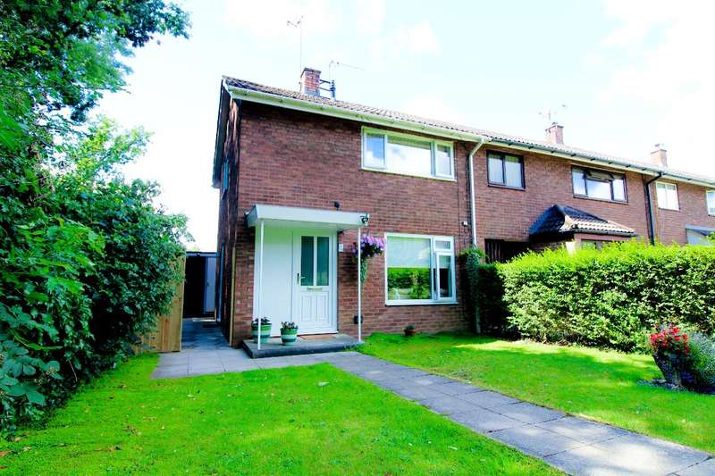 2 Bedrooms End Of Terrace House for sale in Ceredig Court, Llanyravon, Cwmbran