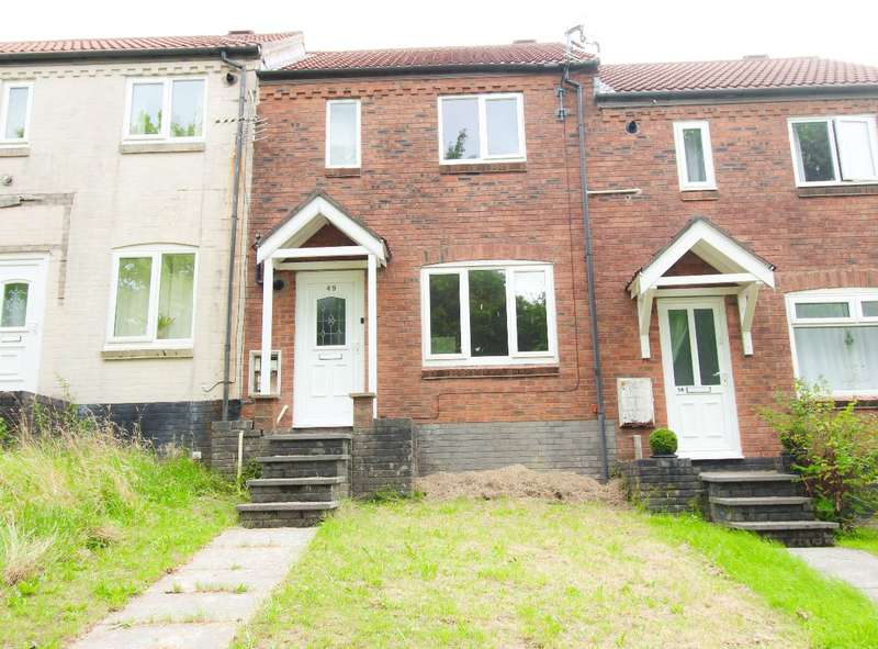 2 Bedrooms Terraced House for sale in Twmbarlwm Close, Risca, Newport