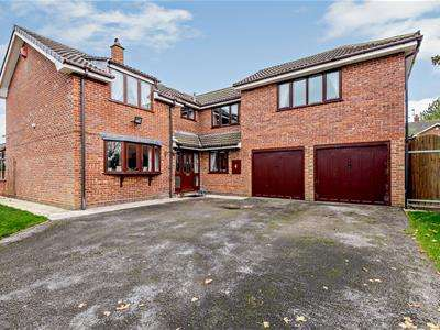 4 Bedrooms Detached House for sale in Brook Side, Ranton, Stafford, Staffordshire