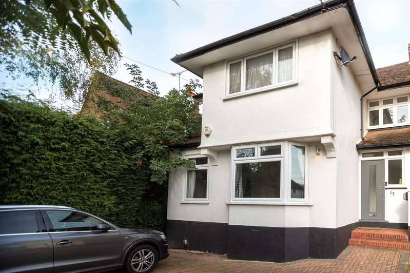 4 Bedrooms Semi Detached House for sale in Willow Way, RADLETT