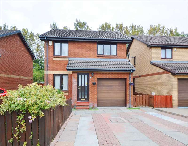 3 Bedrooms Detached House for sale in Culzean Drive, Newarthill, Motherwell