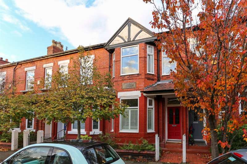 4 Bedrooms Terraced House for sale in Cartwright Road, Chorlton, Manchester, M21