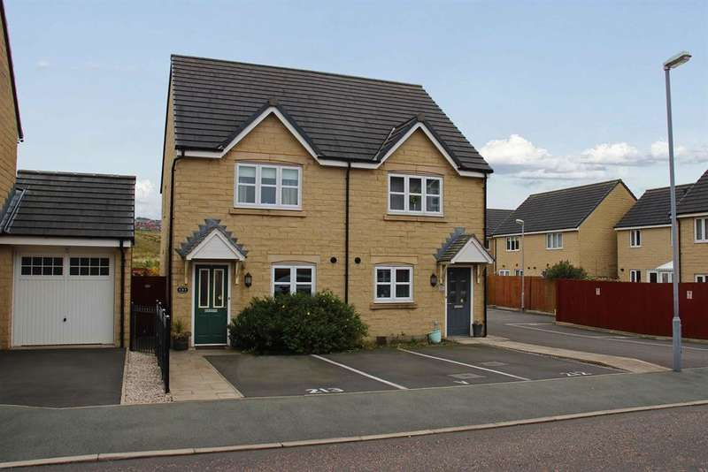 2 Bedrooms Semi Detached House for sale in Westall Gardens, Darwen, BB3 3FN