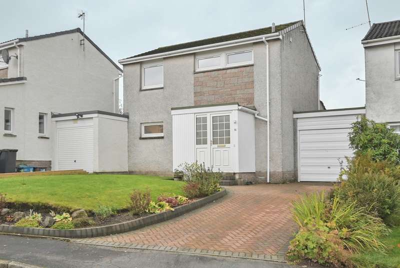 3 Bedrooms Link Detached House for sale in Braemar Avenue, Dunblane, FK15