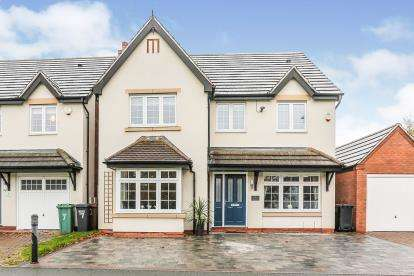 4 Bedrooms Detached House for sale in The Green, Castle Bromwich, Birmingham, .