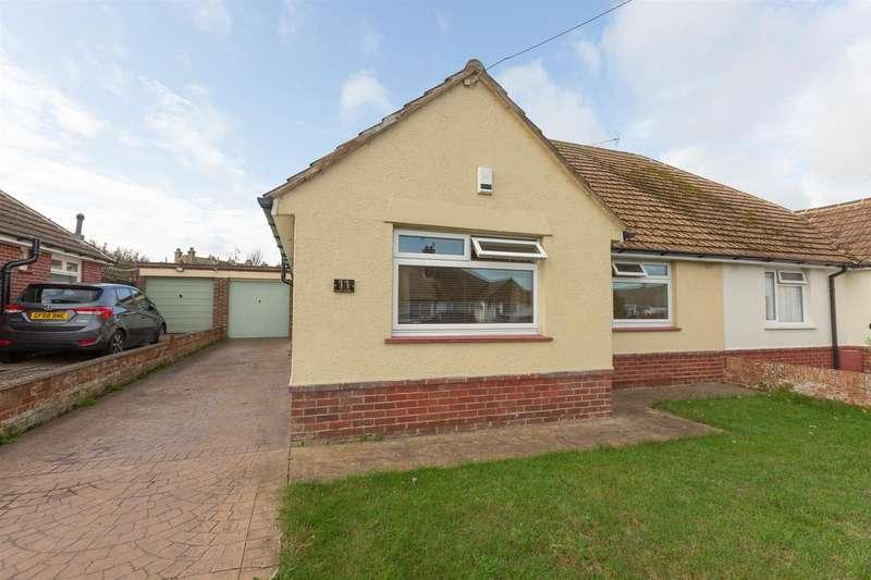2 Bedrooms Semi Detached Bungalow for sale in Essex Gardens, Birchington