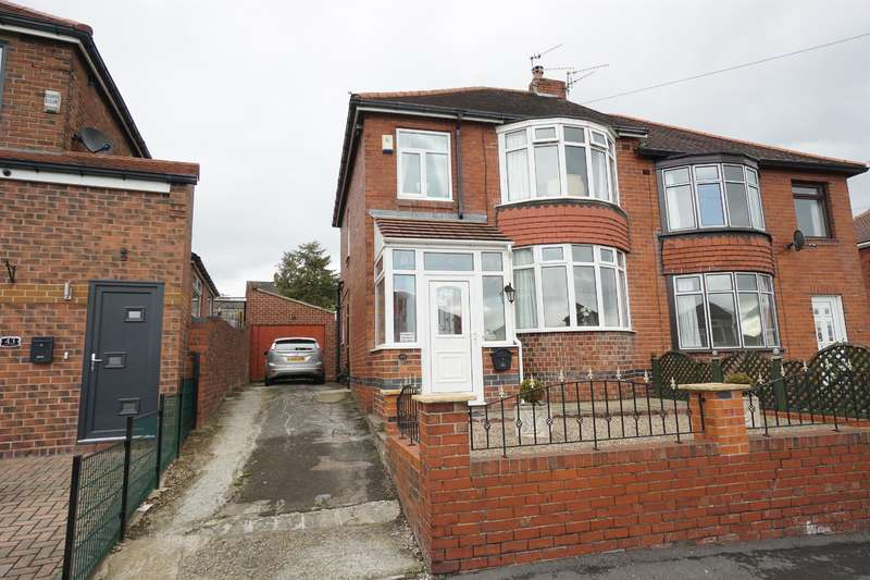 3 Bedrooms Semi Detached House for sale in Lyminster Road , Birley Carr, Sheffield, S6 1HW