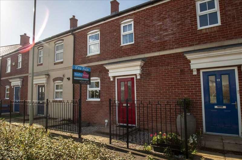 3 Bedrooms Terraced House for sale in Finn Farm Road, Bridgefield, Ashford, Kent, TN25 7AB